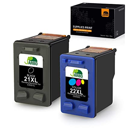 JARBO Cartuchos de tinta HP 21XL 22XL 21 22 para HP Deskjet 3940 ...