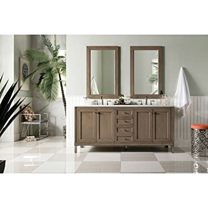James Martin Chicago 72u0026quot;. Double Bathroom Vanity (Top Not ...