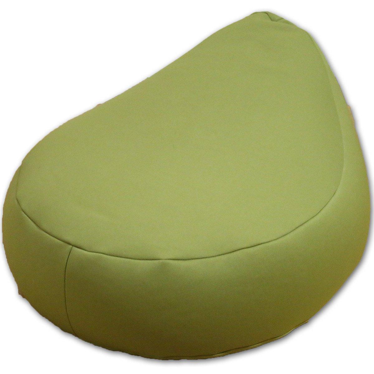 ビーズクッション エッグ L ニット地 (グリーン) B078T5GLLH グリーン グリーン