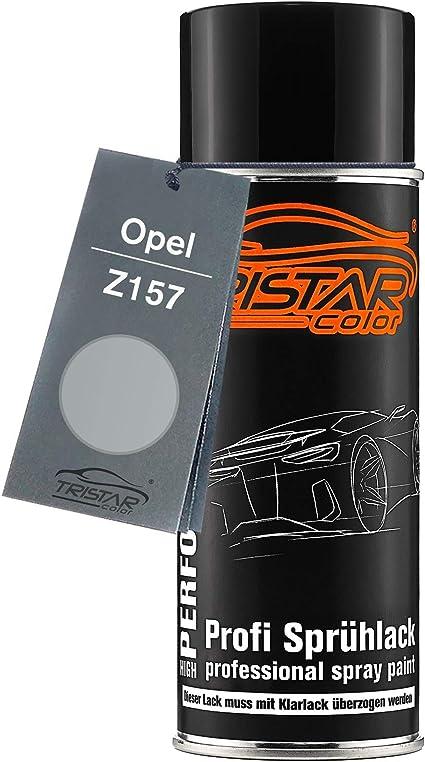 Tristarcolor Autolack Spraydose Für Opel Z157 Starsilber Iii Metallic Star Silver Ii Metallic Basislack Sprühdose 400ml Auto