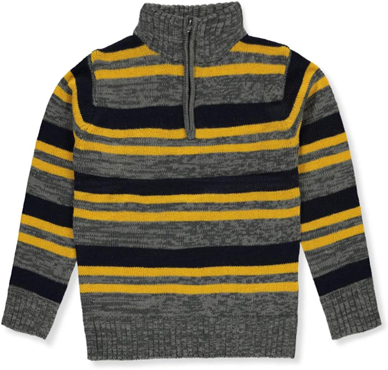 Sezzit Boys Zip Neck Sweater