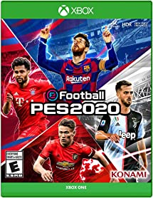 2020 Xbox One Games.Efootball Pes 2020 Xbox One Konami Video Amazon Com