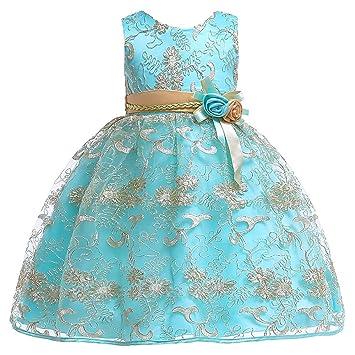20975dad95b Havanadd Robes de soirée pour Fille 2019 Robe de Fille pour Enfant Robe  Jupe d été ...