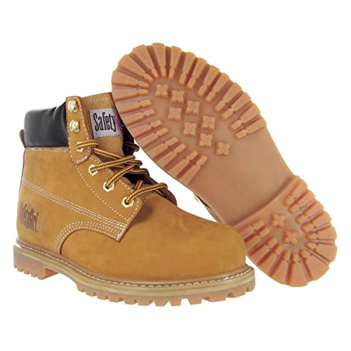 best factory price finest fabrics Safety Girl II Womens Work Boots - Tan Steel Toe