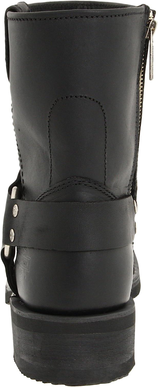 Bottes de Moto Homme HARLEY-DAVIDSON El Paso//Blk Short Harness W//Inside Zip