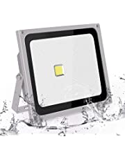 Roleadro 50W Focos Led IP66 Impermeable SMD3030 LED Floodlight con Reflectores,Foco proyector LED Iluminación Exterior para Calzada Terraza Jardin 6500K Negro