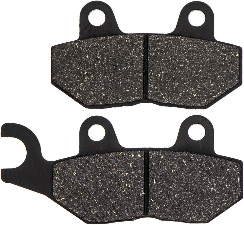 NICHE Brake Pad Set For Triumph Sprint Scrambler Bonneville T2020072 T2025045 Front Rear Semi-Metallic