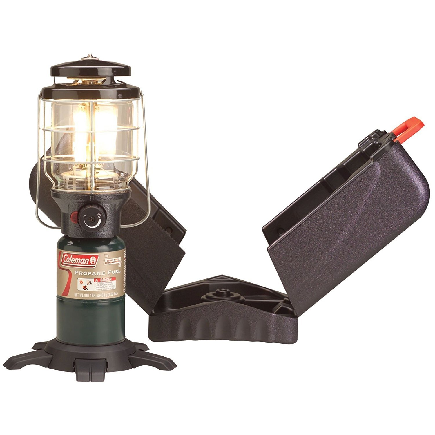 Coleman Northstar Propane Lantern with Case (3, Lanterns)