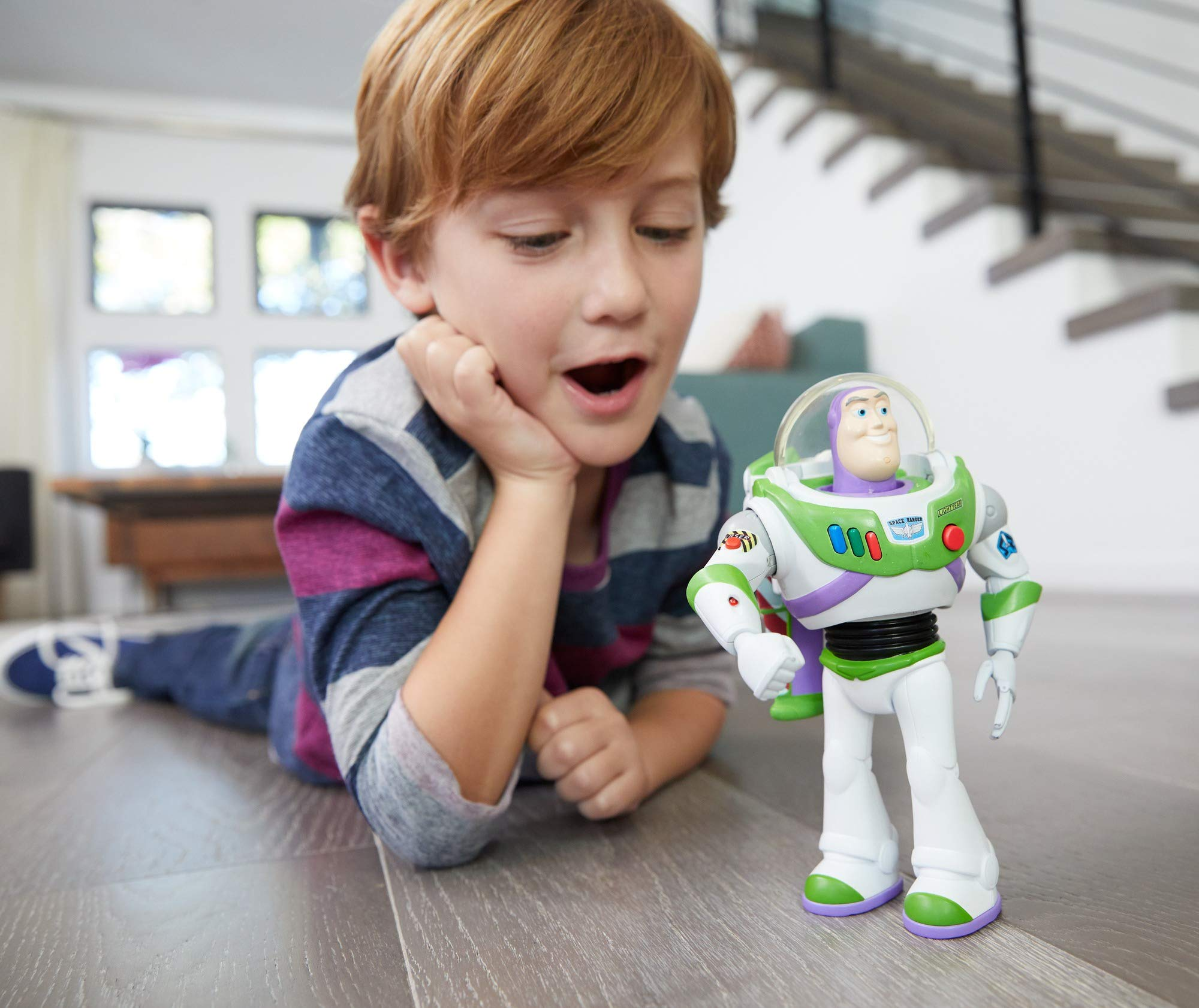 Disney Pixar Toy Story Ultimate Walking Buzz Lightyear, 7'' by Toy Story (Image #12)