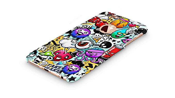 brand new ce202 c8403 Cover Affair Funky/Cool/Funny Cartoon Printed Designer Slim Light Weight  Back Cover Case Compatible with Apple iPhone 6 / 6S