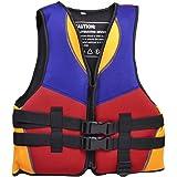 SODIAL(R) Rouge Bleu Orange Sports Aquatiques Natation Gilet de sauvetage Gilet Taille S pour les enfants