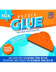 Masterpieces Puzzle Glue 2 Accessory Bundle Pack, 5-Ounce, 2-Pack