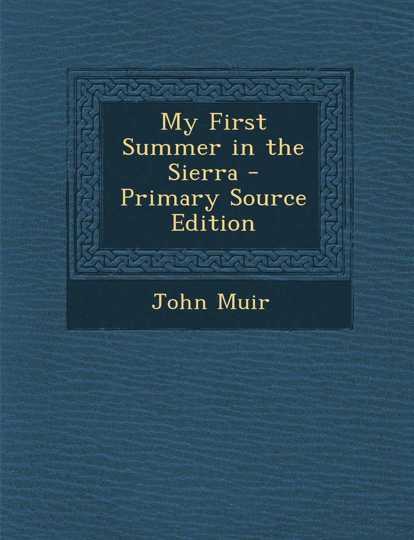 Download My First Summer in the Sierra pdf epub