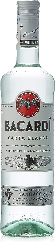 Bacardi Ron blanco - 70 cl: Amazon.es: Alimentación y bebidas