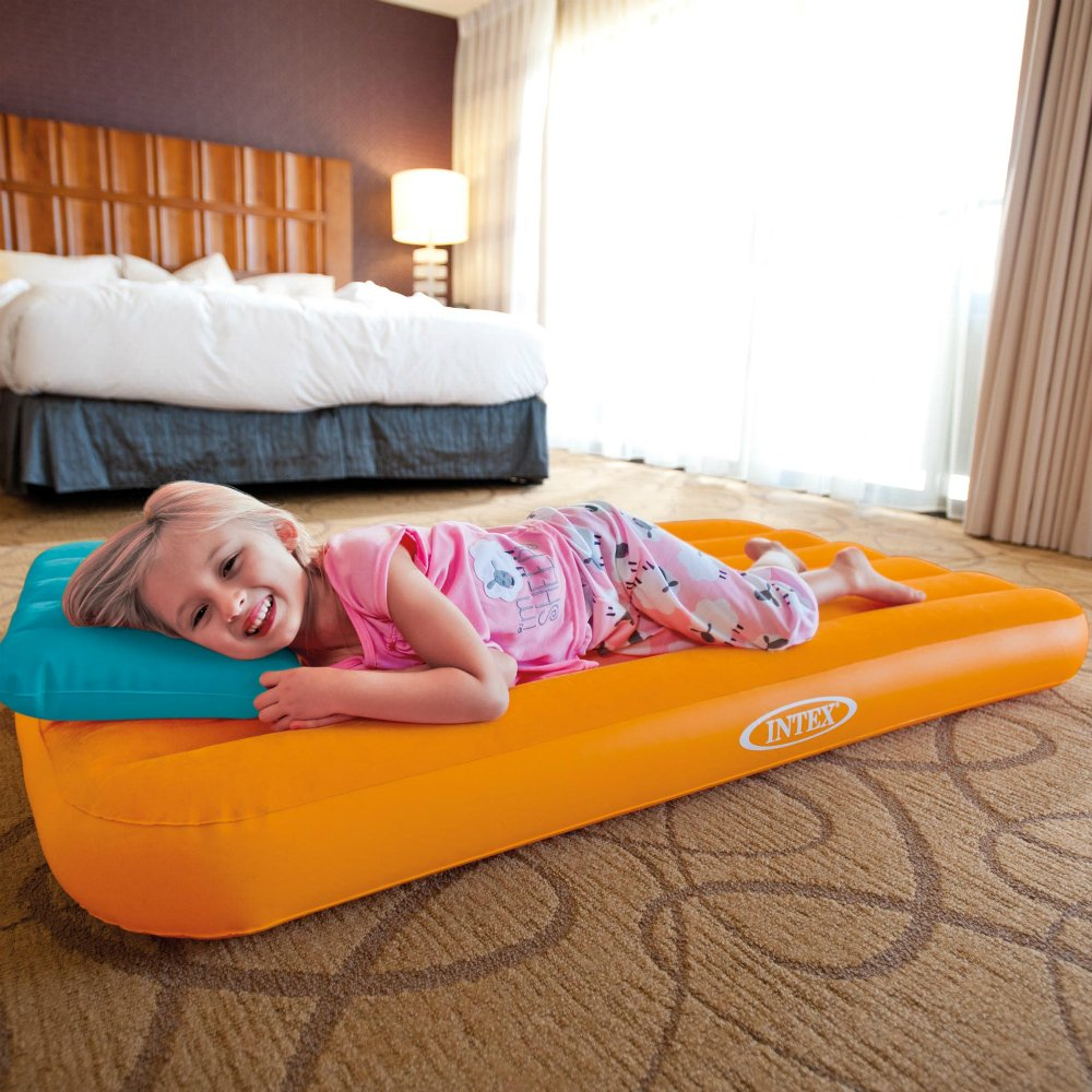 Intex Cozy Kidz Inflatable Airbed, (Colors May Vary), 1 Bed by Intex (Image #2)
