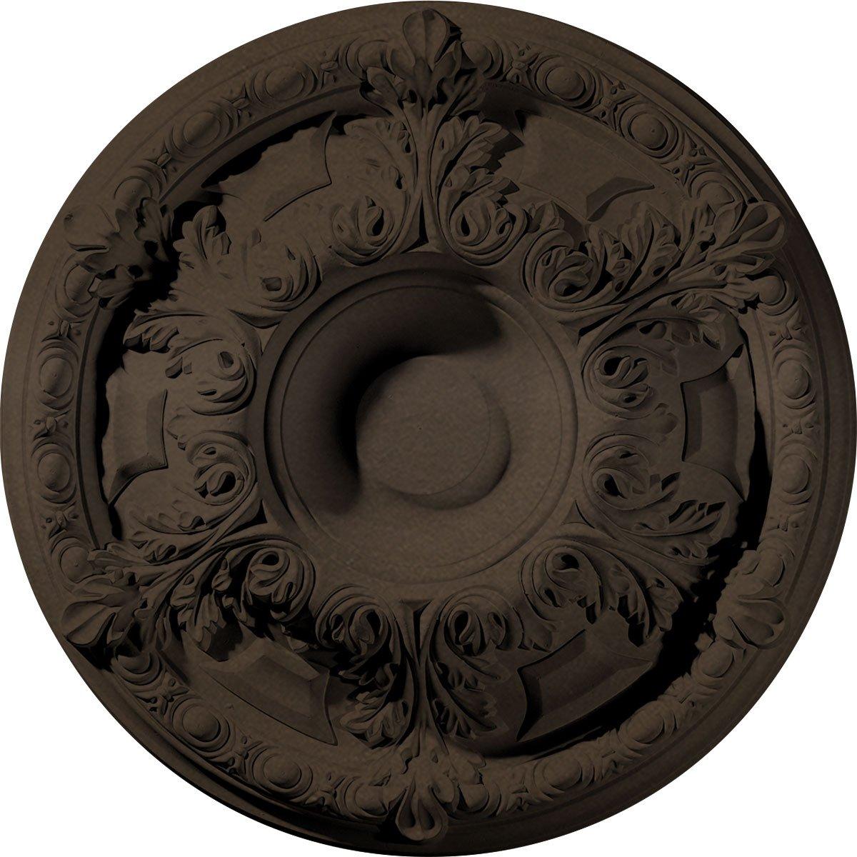 Ekena Millwork CM19GABZS Granada Ceiling Medallion, Bronze