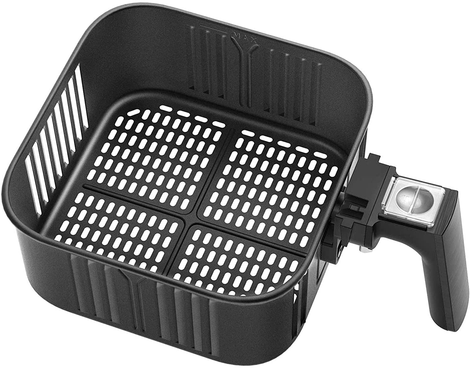 Air Fryer Replacement Basket 5.8QT For COSORI Black CP158-AF, CS158 & CO158 Air Fryers, Non-Stick Fry Basket, Dishwasher Safe, C158-FB