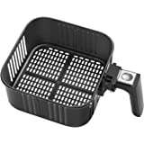 Air Fryer Replacement Basket 5.8QT For COSORI Black CP158-AF, CS158 & CO158 Air Fryers, Non-Stick Fry Basket, Dishwasher…
