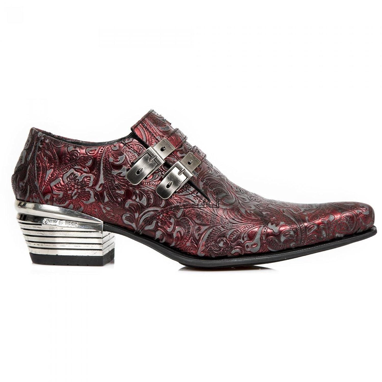 New Rock Boots M.2246 C44 Western Cowboy Herren Sneeker Rot