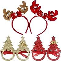 Toyvian Fiesta de Navidad Cintas para la Cabeza