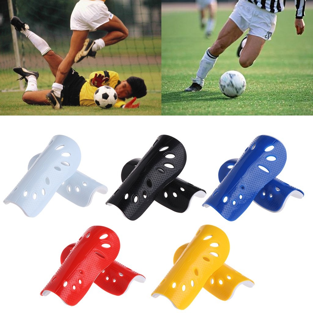 2 Pairs Kids Soccer Shin Guards for Children 6-14 Years Old 5mm Thicken EVA Soccer Shin Guards Protective Gear Soccer Equipment for/Kids Girls Boys
