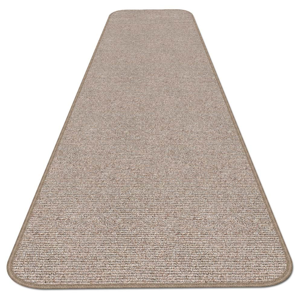 House, Home and More Skid-resistant Carpet Runner - Pebble Beige - 6 Ft. X 27 In. - Many Other Sizes to Choose From