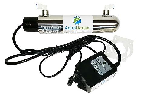 AquaHouse ultravioleta UV 12W Sistema de Tratamiento de Agua 4 ...