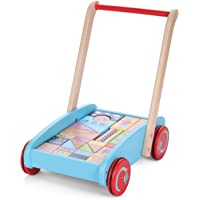 In The Night Garden 1091 Wooden Baby Walker with Blocks