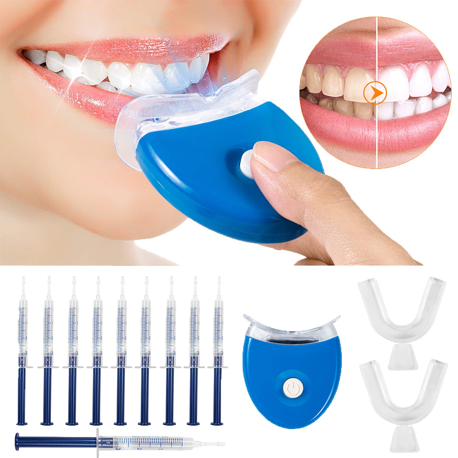 Amazon Com Teeth Whitening Kit Maybeau Teeth Whitening Gel Kit