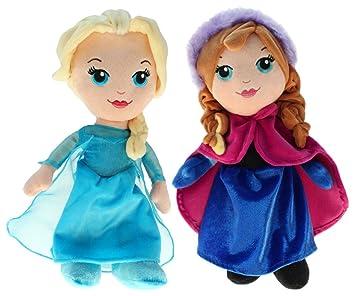 Disney 201790 – Peluche Frozen – Elsa & Anna, ...