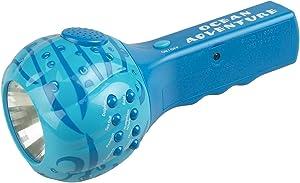 Small World Express Sound Flashlight - Aqua