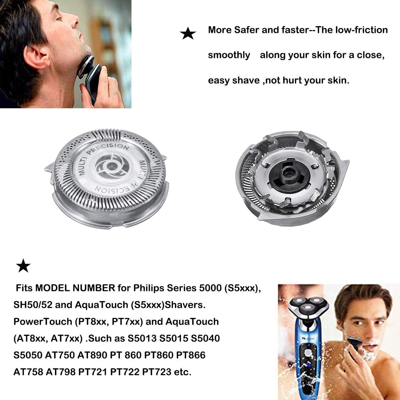 SH50 Cabezales de Afeitar para serie 5000, Cuchilla de Afeitar de ...