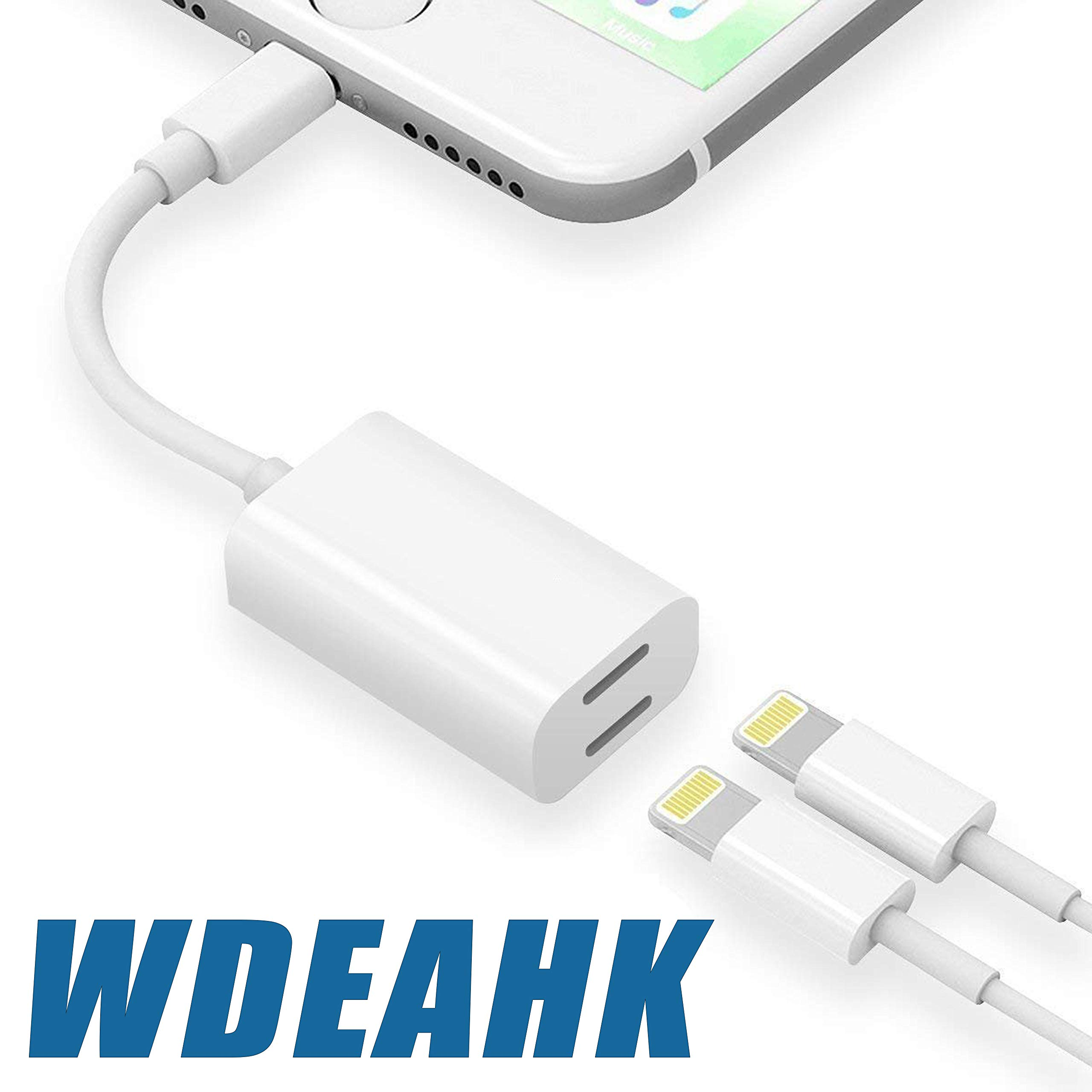 WDEAHK 4 in 1 Earphone Cable Converter Compatible by WDEAHK
