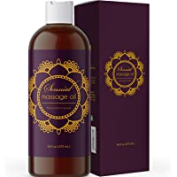 Sensual Massage Oil for Massage Therapy - Natural and Relaxing Massage Oil for Men and Women with Aromatherapy Oils and…