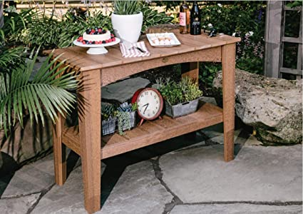 Phenomenal Amazon Com Luxcraft Recycled Plastic Island Buffet Table Dailytribune Chair Design For Home Dailytribuneorg