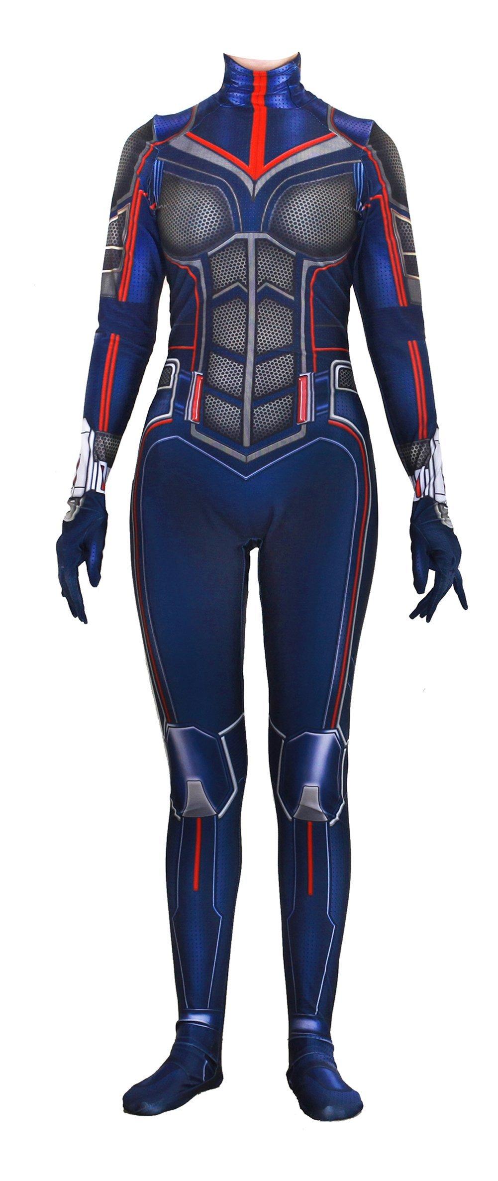 - 71pOkXUYm L - Riekinc Spandex Bodysuit Womens Zentai Suits Cosplay Costume Audlt/Kids
