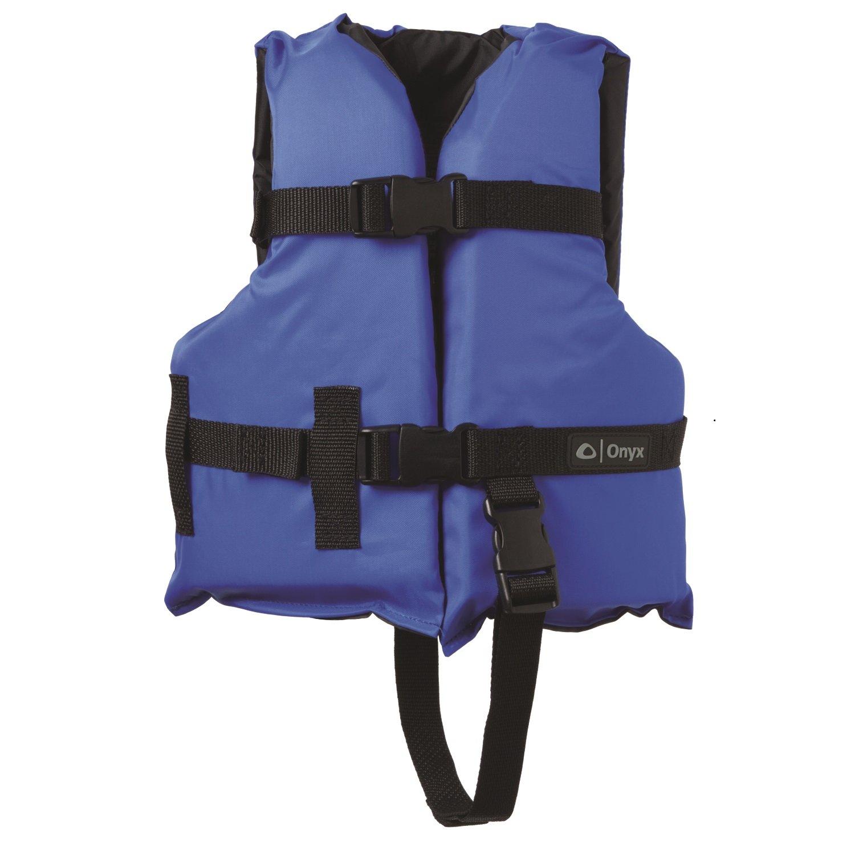 Onyx General Purpose Vests - Child, Blue/Black