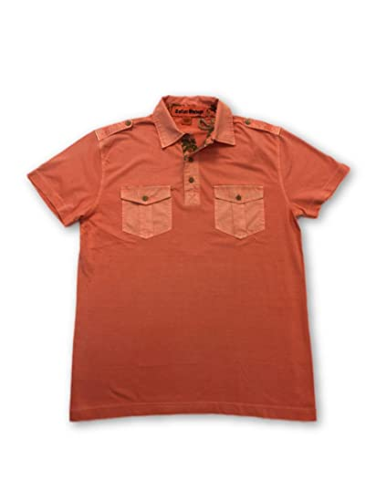 Tailor Vintage Polo in Coral Pink - M: Amazon.es: Ropa y accesorios