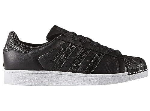 Adidas Superstar Zapatillas para Hombre Negro: Amazon.es: Zapatos y complementos