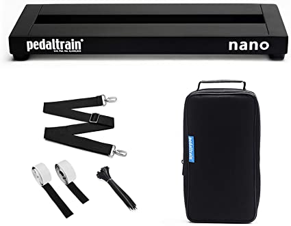 Pedaltrain Nano SC - Soporte para pedales de guitarra: Amazon.es: Instrumentos musicales
