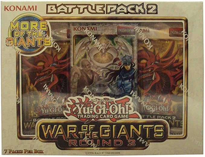 Yugioh War of the Giants Battle Pack 2 - Round 2 [Toy]: Amazon.es: Juguetes y juegos