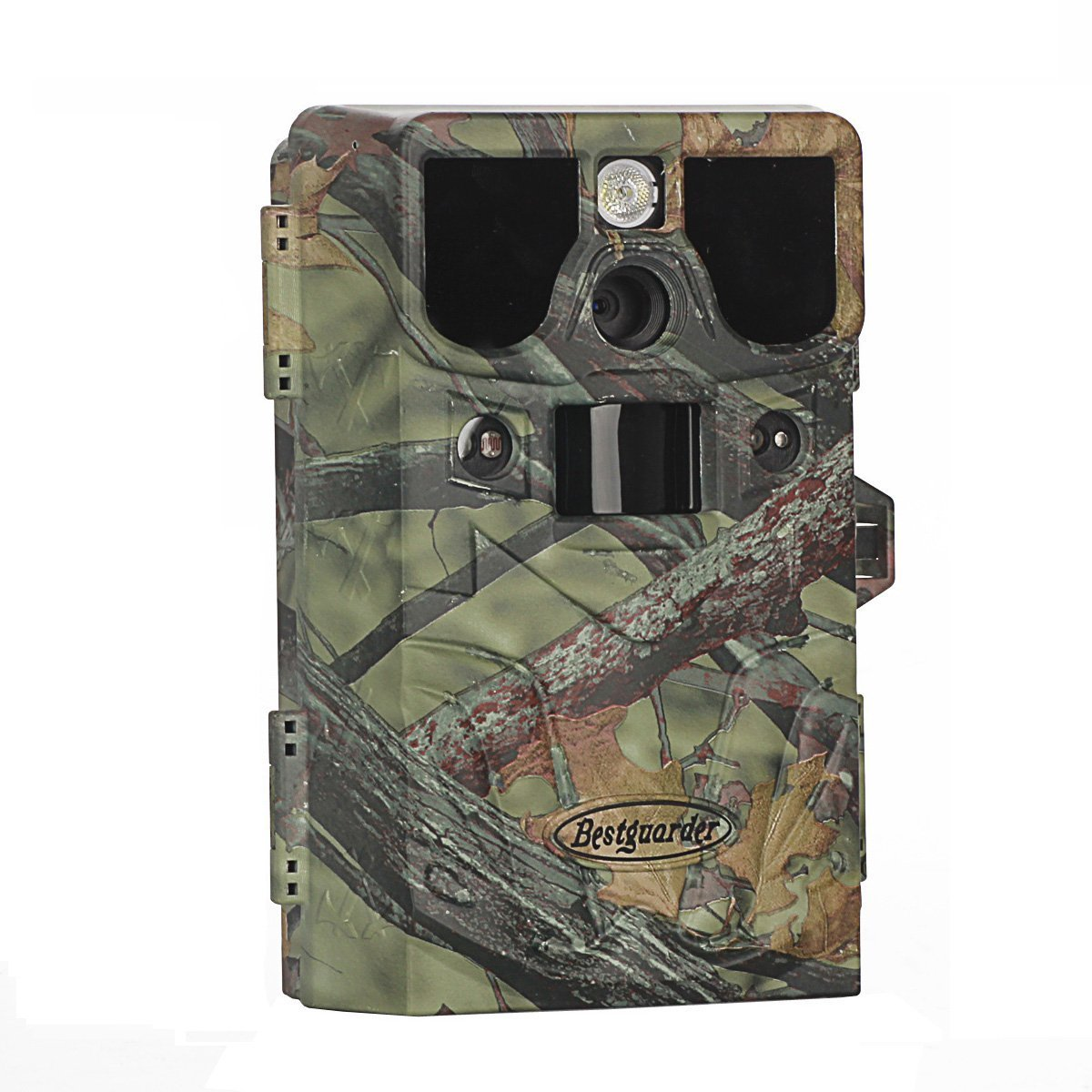 8 in 1 HD Waterproof Game & Trail Hunting Scouting Ghost Camera with Game Call Function for Cold Blooded Animals, Take 12MP Image & 1080P Video from 75feet/23m (SG-990V)