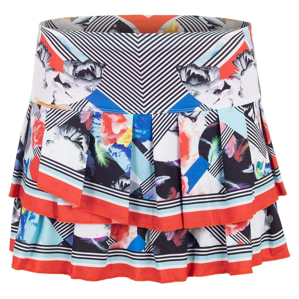 Lucky In Love Bloomy Dimensions Pleat Skirt (Small)