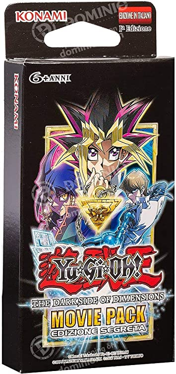 Konami Italiano Yu-Gi-Oh-Movie Pack Secret Edition-ITA: Amazon.es: Juguetes y juegos