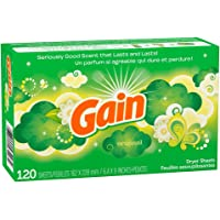 120 Count Gain Original Dryer Sheets