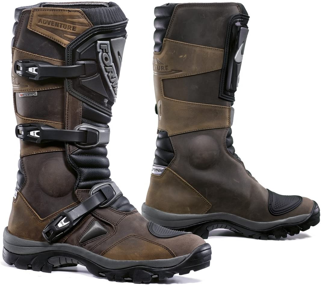 Brown, Size 14 US//Size 48 Euro Forma FOADVBR48 Adventure Off-Road Motorcycle Boots