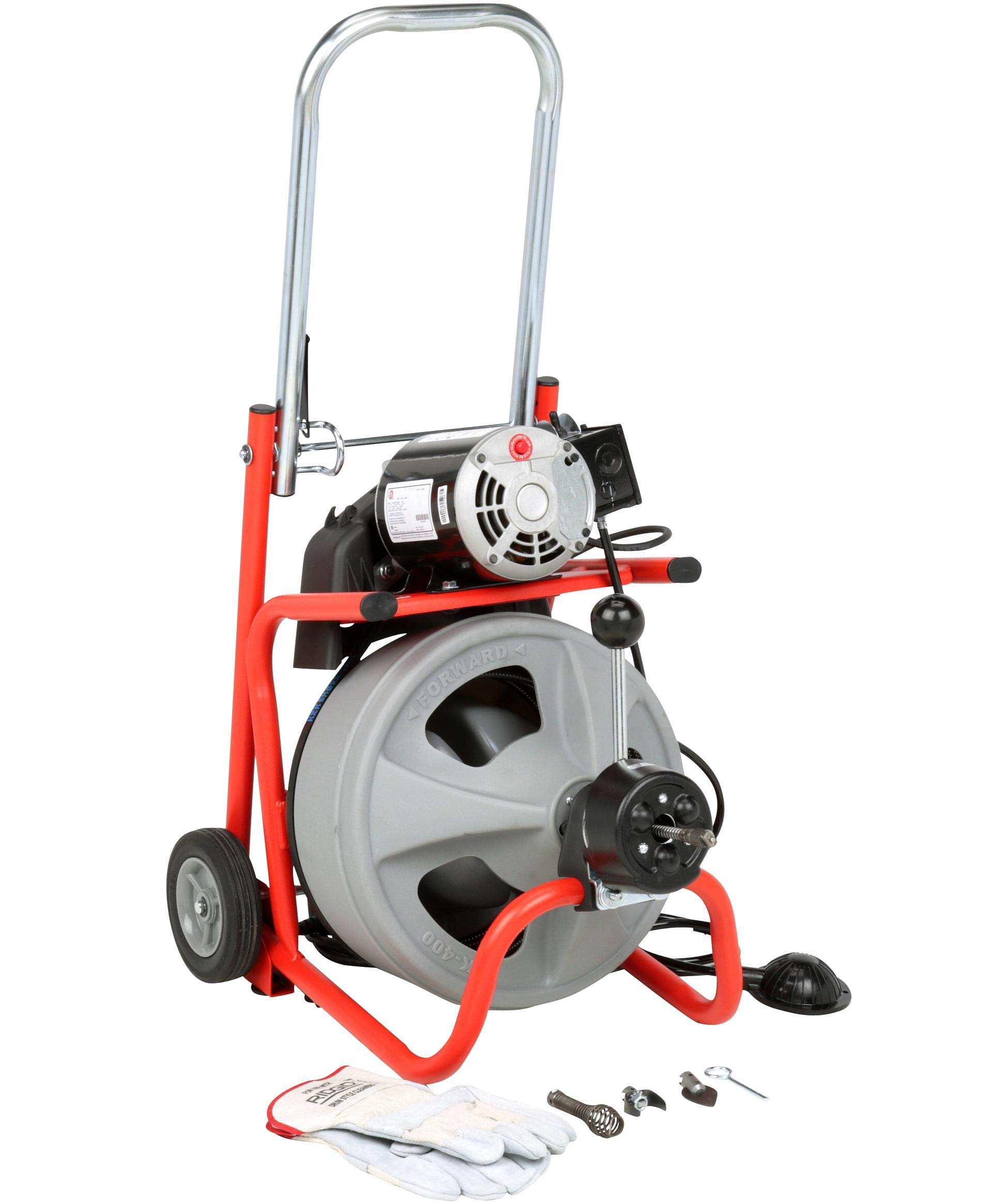 Drain Cleaning Machine, 165 rpm, 75 ft. by Ridgid