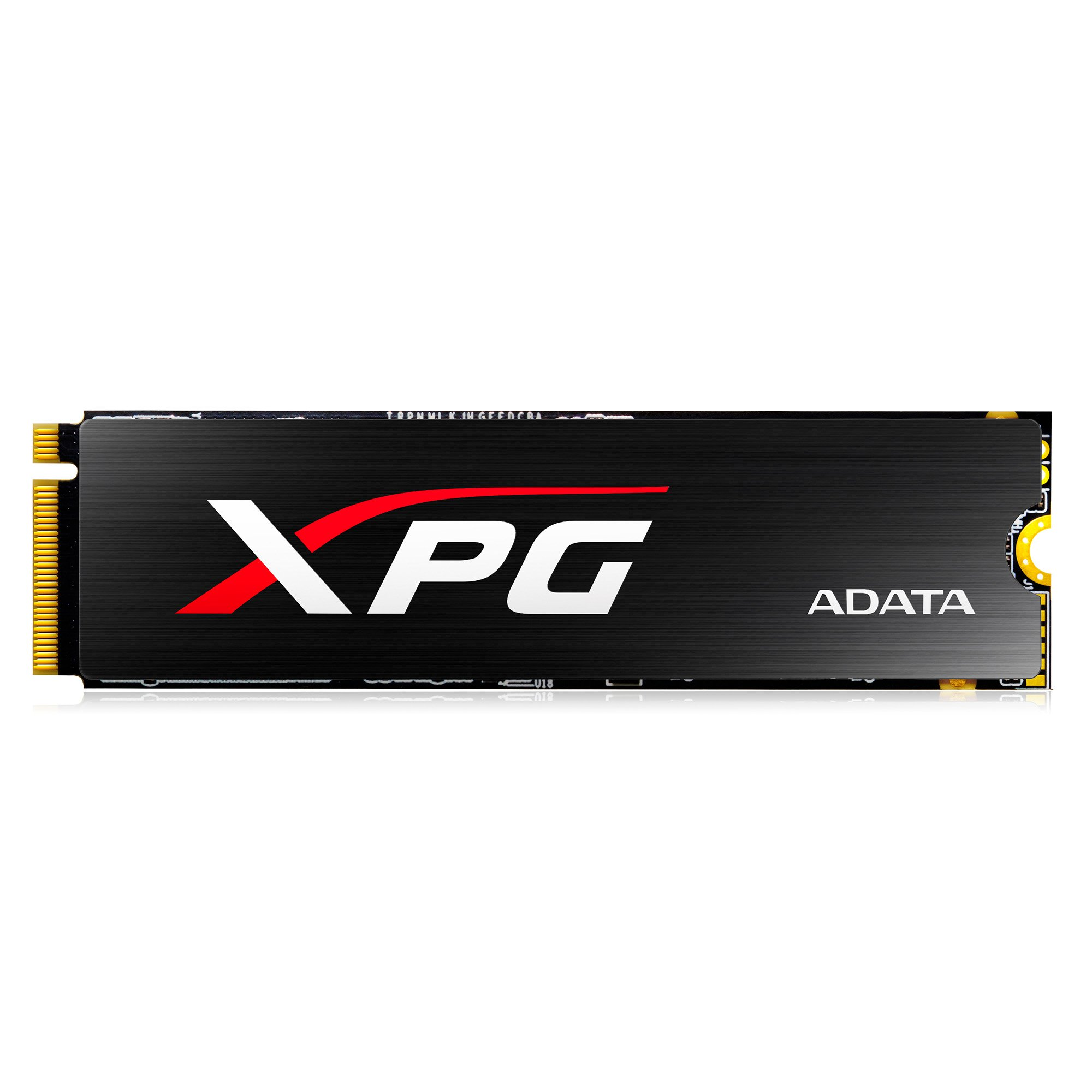 XPG SX8000 PCIe 128GB 3D NAND MLC NVMe Gen3x4 M.2 2280 Solid State Drive with Heatsink (ASX8000NPC-128GM-C)
