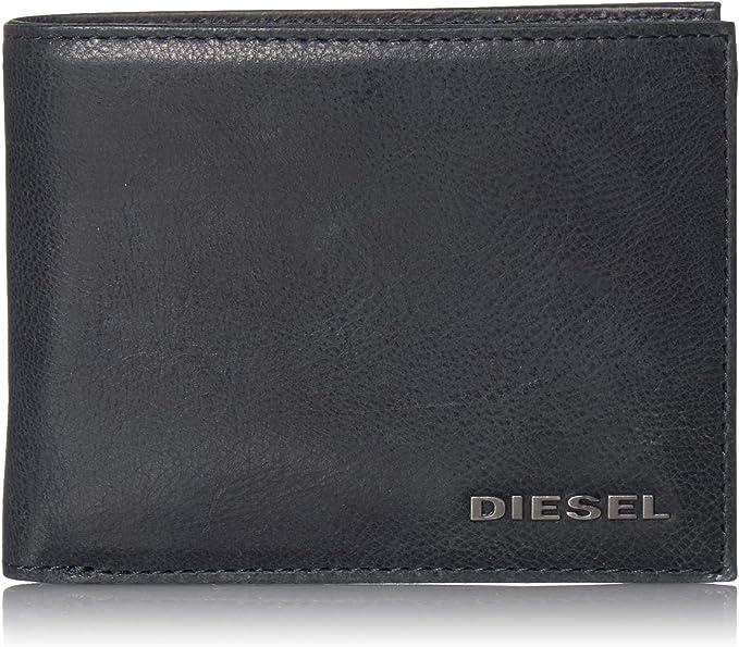 Portefeuille En Cuir De Diesel Nouveau Neela Xs Hommes Noir