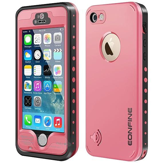 huge selection of 5d956 e33b1 Amazon.com: iPhone 5s Waterproof Case,Eonfine iPhone 5 5s Full ...